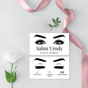 wizytówki dla kosmetologa