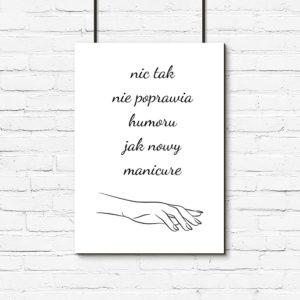 Plakaty Do Studia Urody Modne Dekoracje ścian Dla Kosmetologów