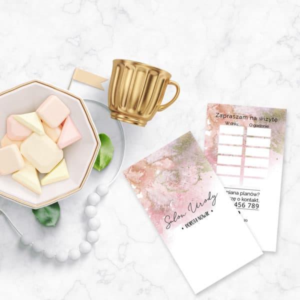 różowe terminarzyki do salonu urody