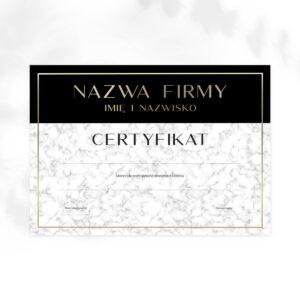 certyfikaty na szkolenia dla kosmetologów