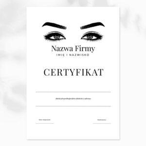 certyfikaty na szkolenia