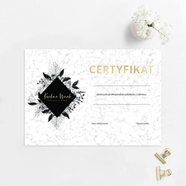 certyfikaty dla kosmetologa