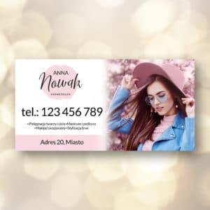 baner do salonu kosmetycznego dla kosmetologa