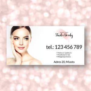 baner reklamowy dla kosmetologa