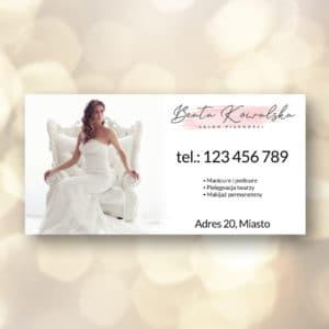 baner reklamowy do salonu piękności