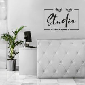 Logo na ścianę do salonu urody