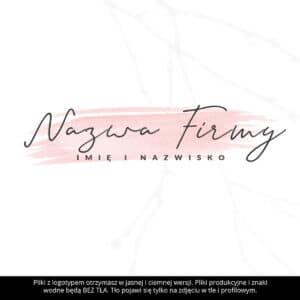 logotyp dla stylistki paznokci