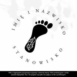 logotyp dla podologa
