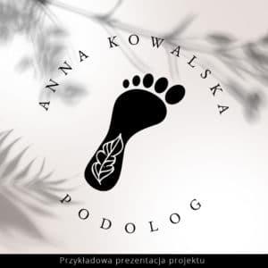 logo dla podologa