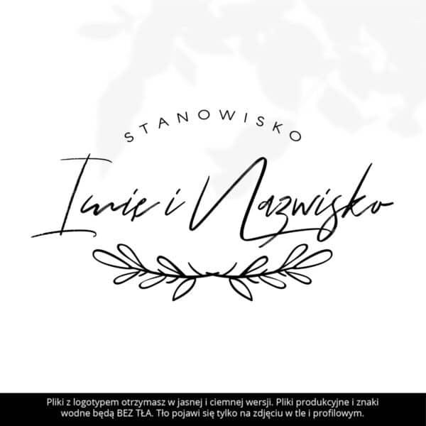 logotyp dla kosmetyczki