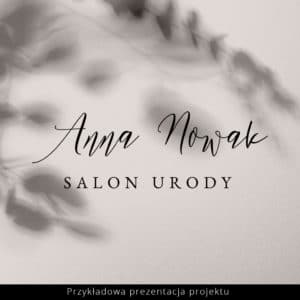 logo do salonu urody