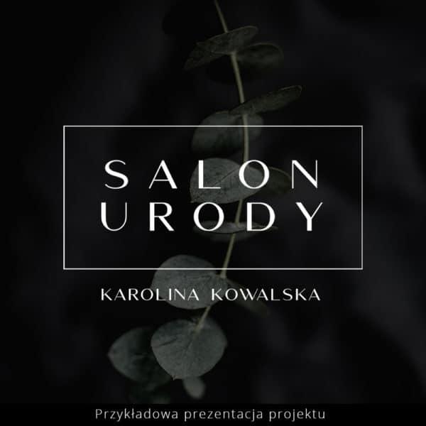 logo glamour dla makijażystki