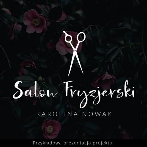 logotyp dla fryzjerki