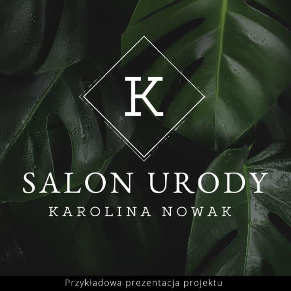 logotyp dla salonu fryzjerskiego