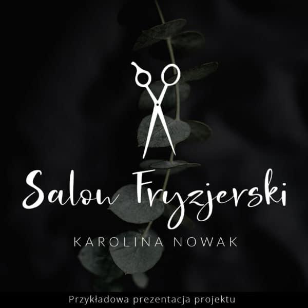 logotyp do salonu fryzjerskiego