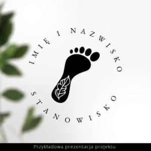 logotyp do salonu podologicznego