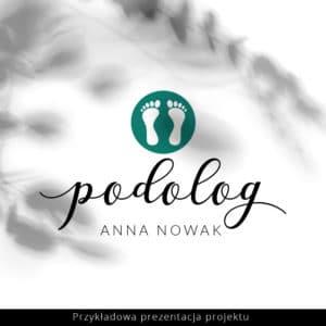 podologiczny logotyp
