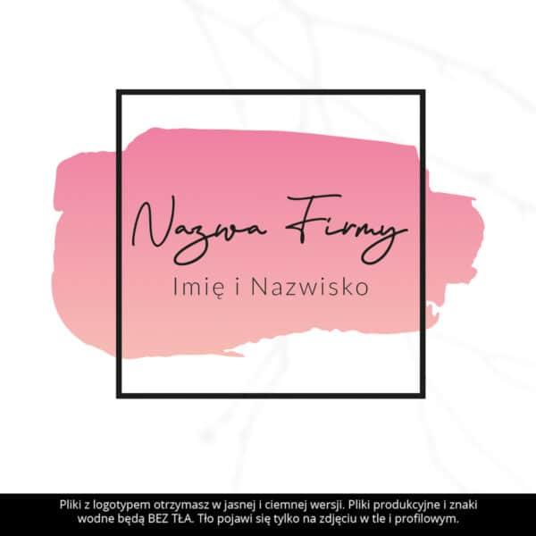 logo dla makeup artist