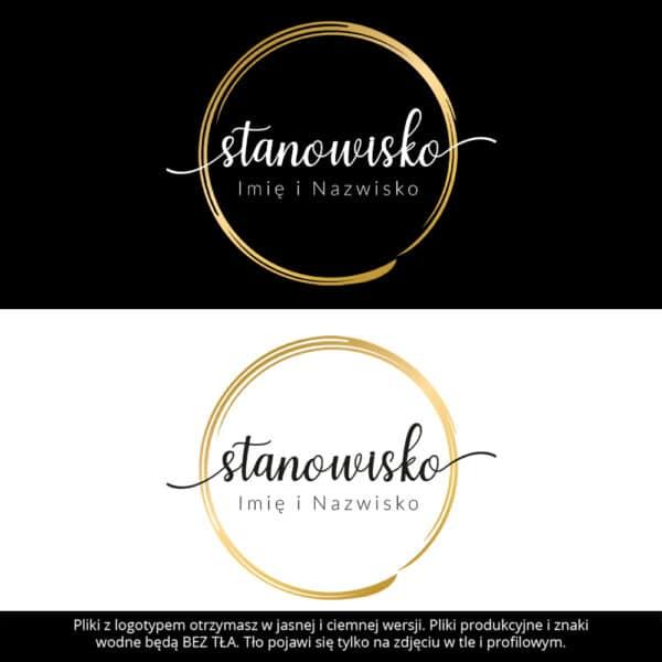 logotyp dla makeup artist