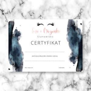 certyfikaty na szkolenia dla stylistek rzęs