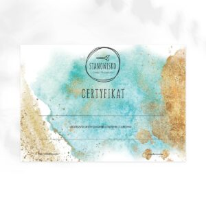 certyfikat dla fryzjera