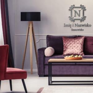 logo 3d dla stylistki brwi