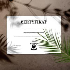 certyfikaty na kursy barberskie
