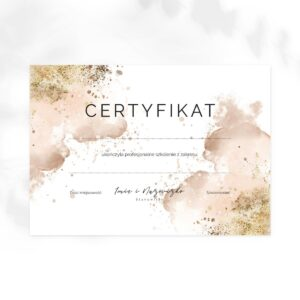 certyfikaty dla stomatologa
