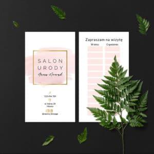 karteczki następna wizyta do studia urody minimalistyczne