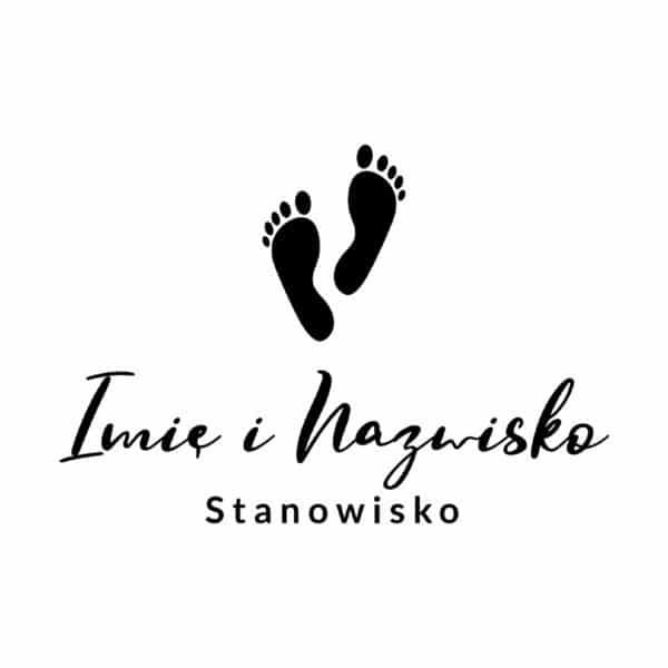 logotyp z plexi dla podologa