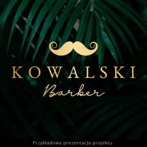 logotyp dla barberów