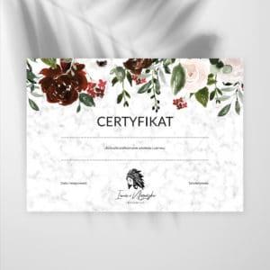certyfikaty na szkolenia boho