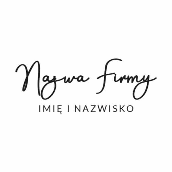 logo plexi dla kosmetologa