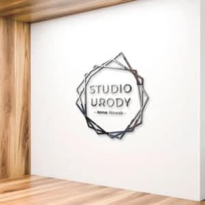 Logo 3D do studia urody