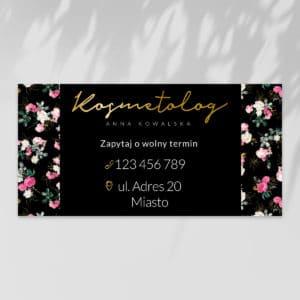 Baner reklamowy do gabinetu kosmetycznego