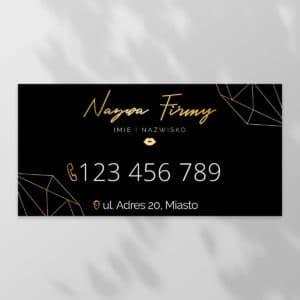 baner reklamowy do salonu kosmetycznego