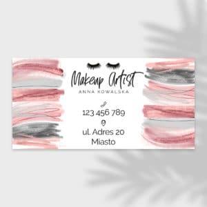 baner reklamowy dla makeup artist
