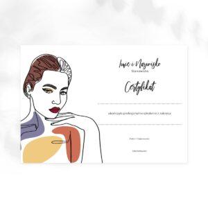 certyfikat dla makeup artist