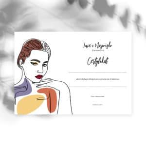 certyfikaty na szkolenia beauty