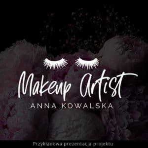 logo dla makijażystki rzęsy