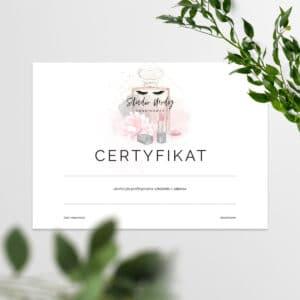 certyfikaty na szkolenia w stylu glamour