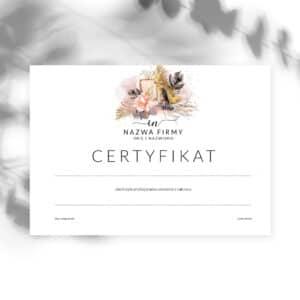 certyfikaty ukończenia szkolenia dla podologów