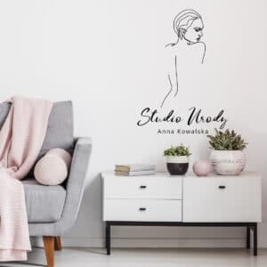 logo na ścianę do salonu kosmetycznego