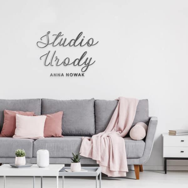 logo 3Ddo salonu kosmetycznego