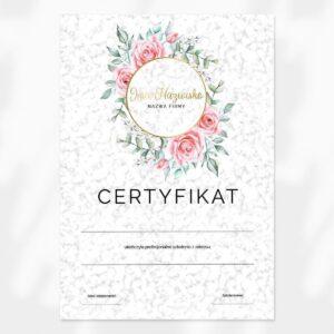 certyfikat do salonu urody