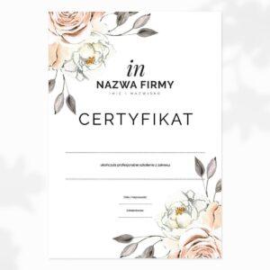 certyfikat dla make up artist