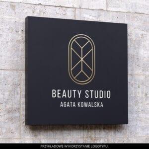 Logotyp elektroniczny dla makijażystki