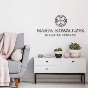 logotyp na ścianę dla podologa