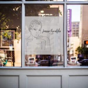 reklama na okno dla trychologa